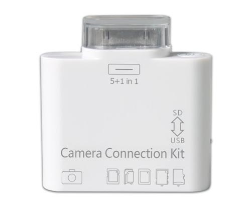 5-In-1 iPad Camera Connection Kit