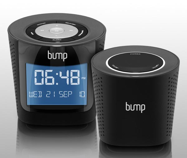 Aluratek BUMP MP3/ FM Radio Boombox with Wireless Speaker