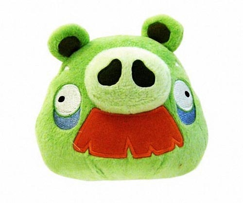 Angry Birds Green Pig Plush Toys