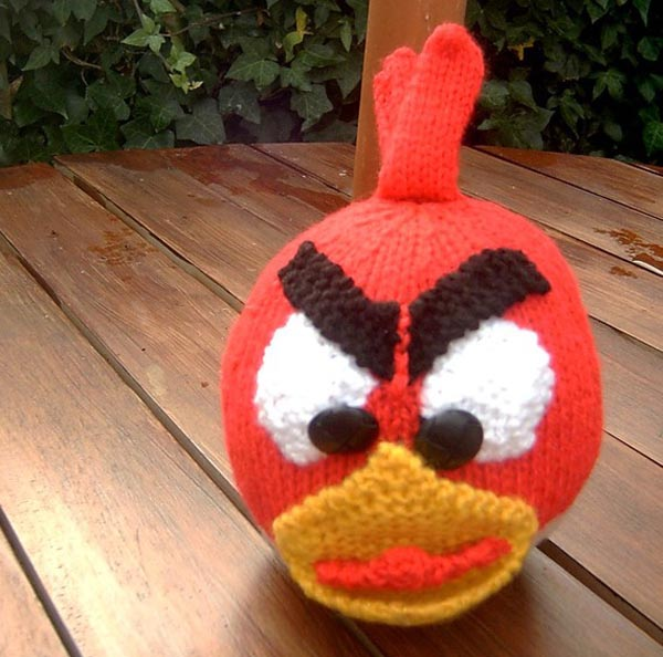 Angry Birds Hand Knitting Dolls