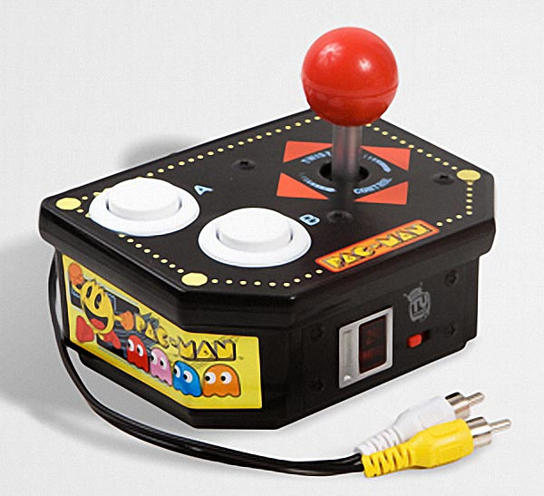 Amazon.com: Original Pac Man Arcade Classics Namco Plug &amp- Play TV ...