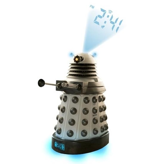 Doctor Who Dalek Projection Alarm Clock