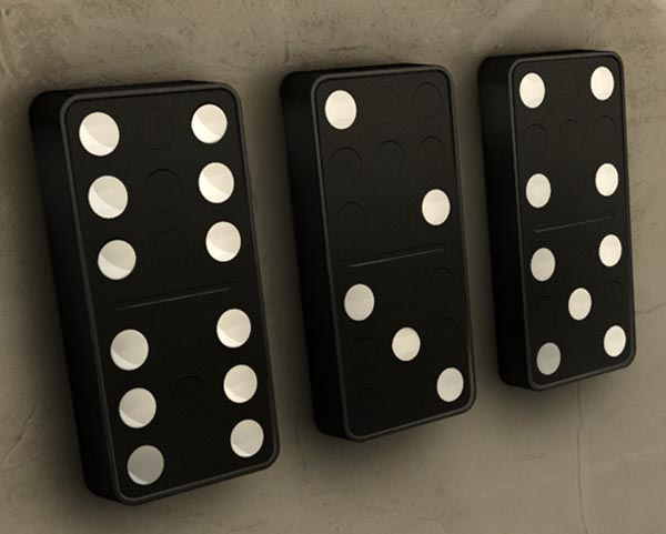 Domino Wall Clock
