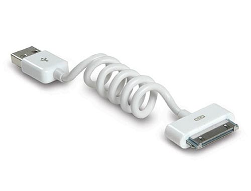 Flexicord mini 30-Pin USB Cable Doubled as Universal Stand for Your Gadgets