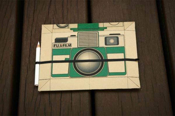 Flutter In Pinhole Paper Disposable Camera Design Concept