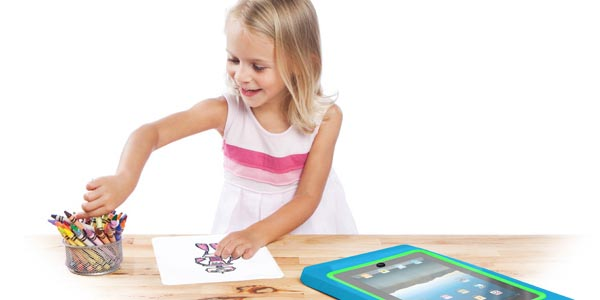Griffin LightBoard iPad Case Designed for Kids