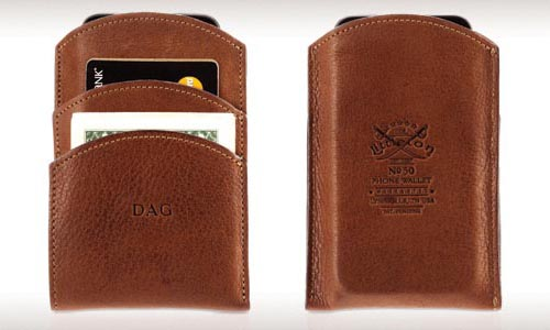 Griffin No. 50 Wallet iPhone Leather Case