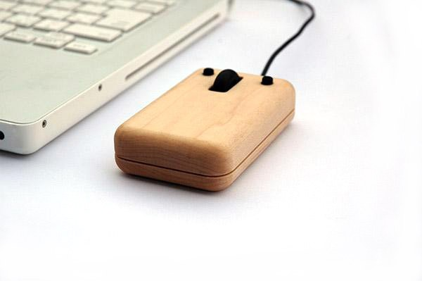 Hacoa Wooden Computer Mouse