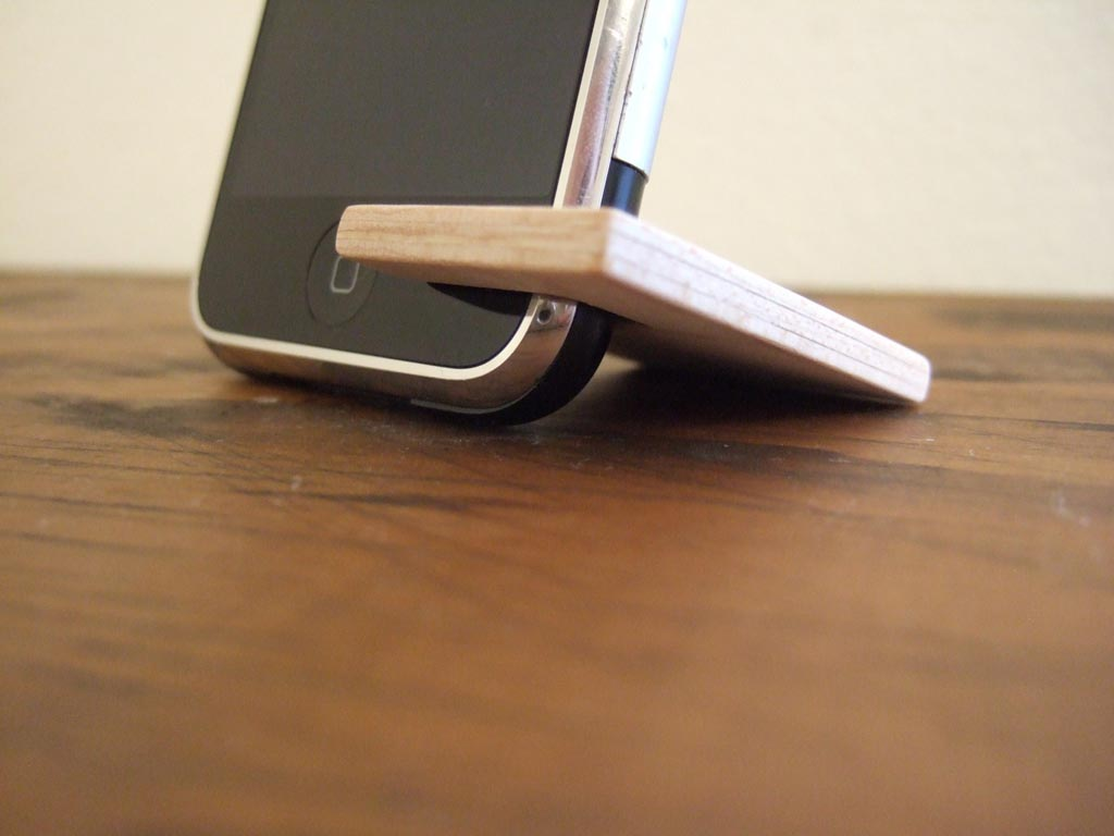 Handmade Wooden Stand For All Models Of Iphone Gadgetsin