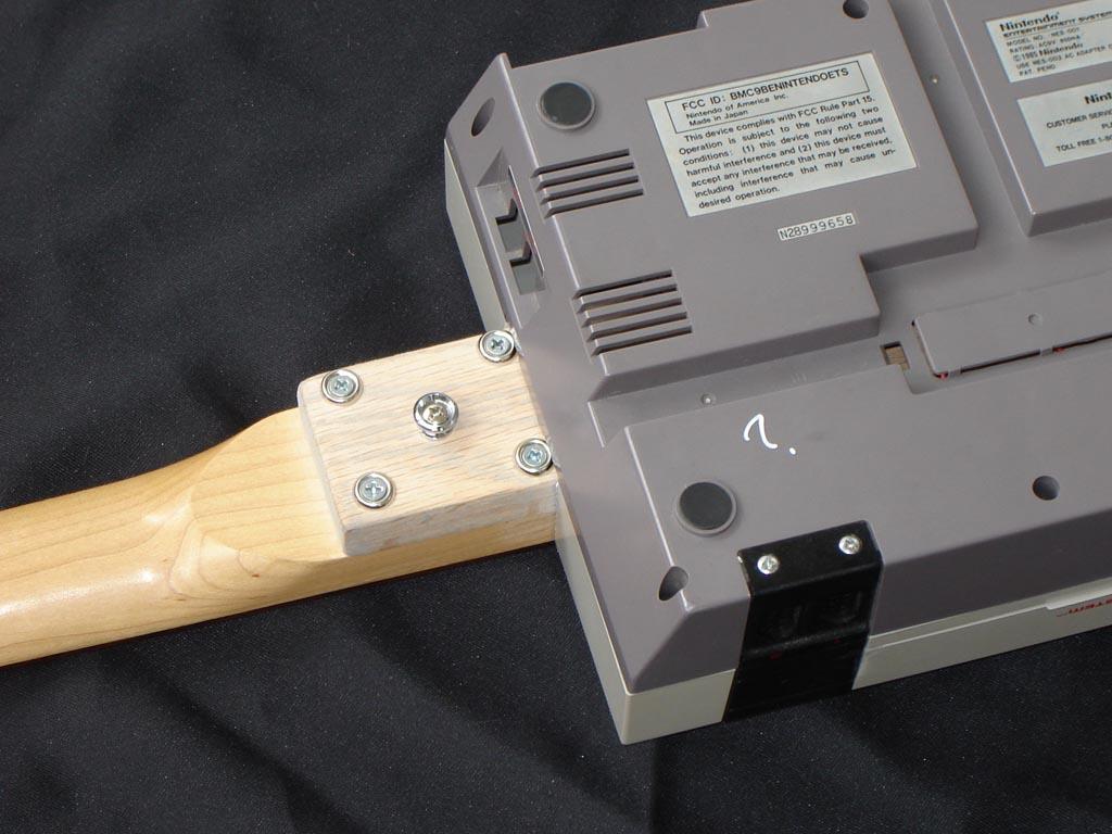 Homemade Nintendo Nes Electric Guitar Gadgetsin