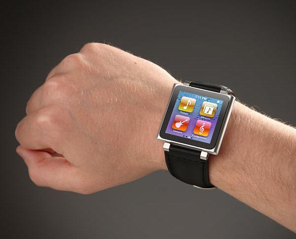 iPod Nano 6G Wristband Doubled as Bottle Opener