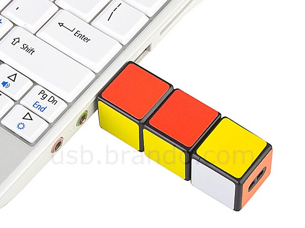 Mini Rubix Cube USB Flash Drive