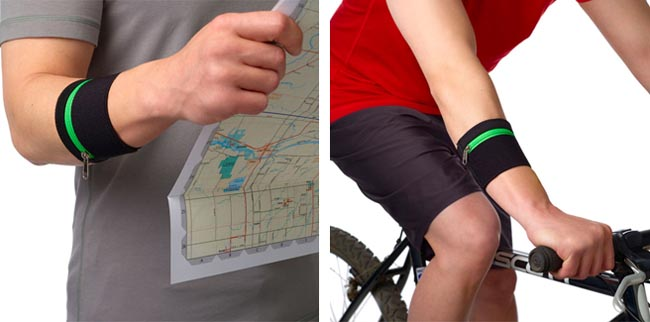 RuMe CUFF Coffee Sleeve Doubled as Wristband Wallet