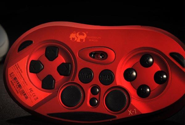 Shogun Bros Chameleon X-1 Wireless Gamepad Computer Mouse Source