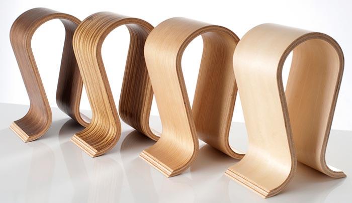 Sieveking Sound Omega Wooden Headphone Stand