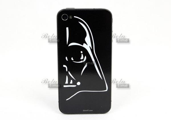 Star Wars Darth Vader iPhone 4 Decal