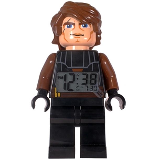 Star Wars Skywalker and Yoda LEGO Minifigure Alarm Clocks