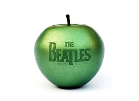 The Beatles Apple Shaped USB Flash Drive