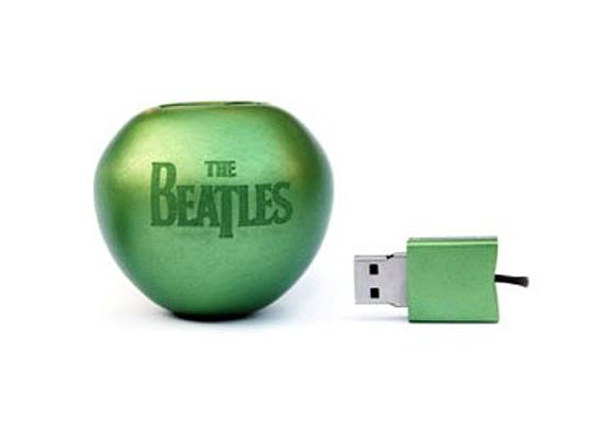 The Beatles Apple Shaped USB Flash Drive