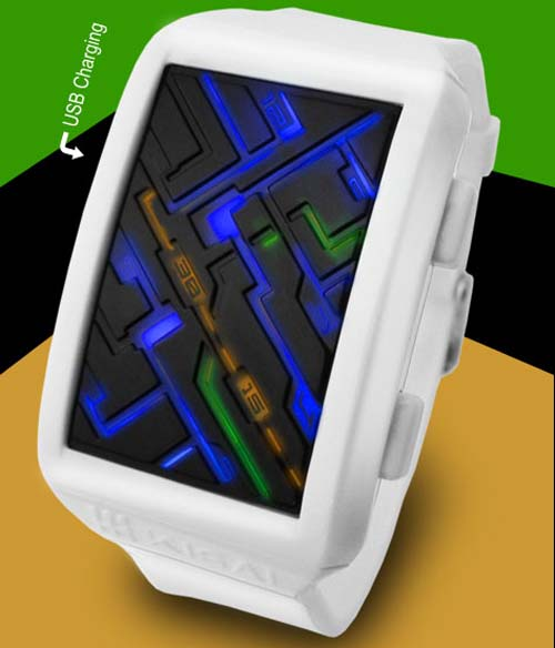 Tokyoflash Kisai Transit LED Watch
