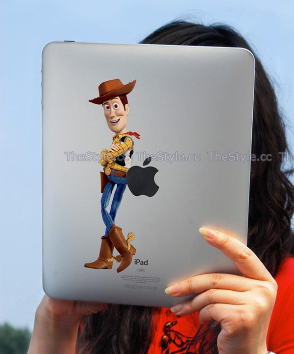 Toy Story 3 Woody iPad Decal