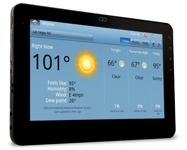 Viewsonic G-Tablet 10-Inch Android Tablet PC