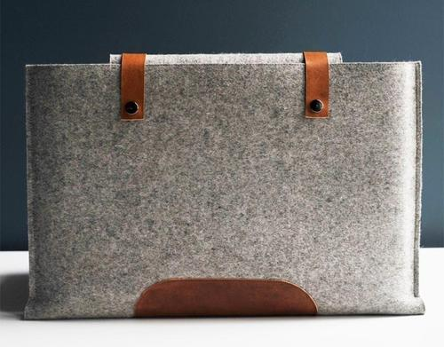 Elegant Wool Felt MacBook Pro Sleeve