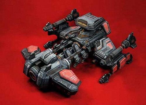 StarCraft 2 Battlecruiser Paper Craft