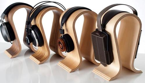 Sieveking Sound Omega Wooden Headphone Stand