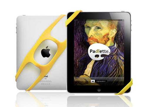 Grip Your iPad with Padlette