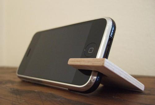 Handmade Wooden Stand for All Models of iPhone