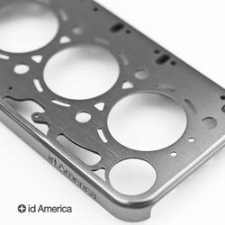 Id America Gasket Brushed Aluminum iPhone 4 Case