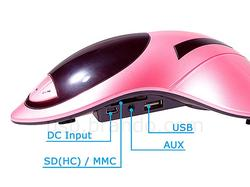 Aircraft Shaped Portable Speaker Doubled as MP3 Player