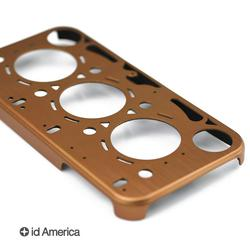 Id America Gasket Brushed Aluminum iPhone 4 Case