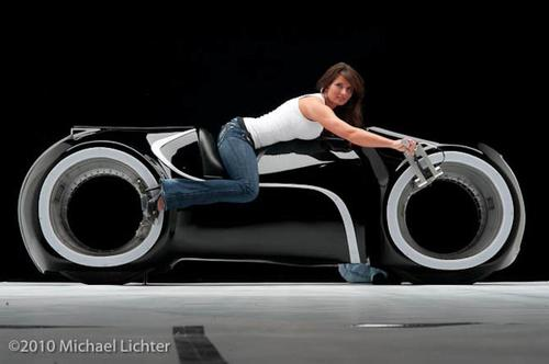 Street Legal Tron Legacy Light Cycle Custom Motorcycle