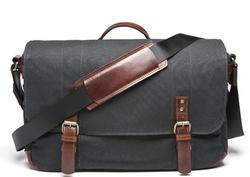 Union Street Camera and Laptop Canvas Messenger Bag