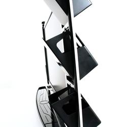 Thanko LCD Display 4-Port USB Hub Station