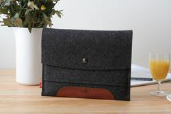 Handmade Merino Wool Felt iPad Sleeve