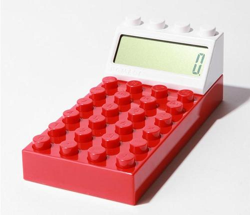Building Block Styled Calculator
