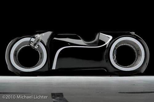 Street Legal Tron Legacy Light Cycle Custom Motorcycle