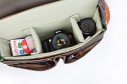The Classical Leather Camera Messenger Bag
