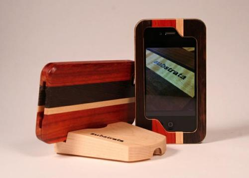 Substrata Wooden iPhone 4 Case