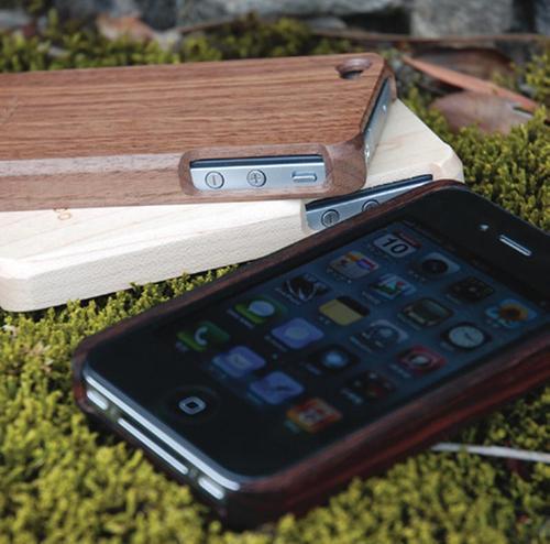 Customizable Hacoa Wooden iPhone 4 Case