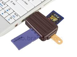 Cute Popsicle All-in-one USB Card Reader