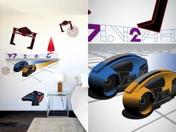 Tron Legacy Wall Decals