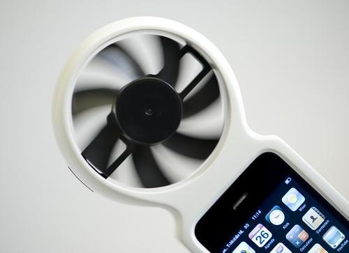 iFan Eco-Friendly Wind Generator iPhone Case