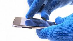 Quirky Digits Glove Button Pin Lets You Enjoy iPhone in Winter