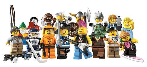 LEGO Minifigures 8683 Series 4 Unveiled