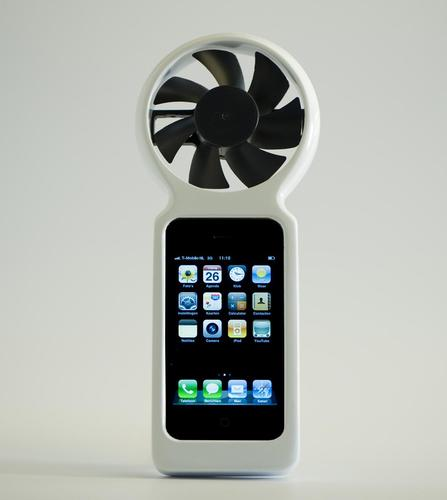 iFan Eco-Friendly Wind Generator iPhone Case
