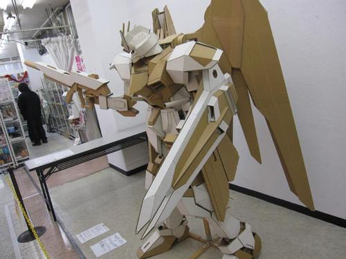 Amazing Giant Freedom Gundam Cardboard Model